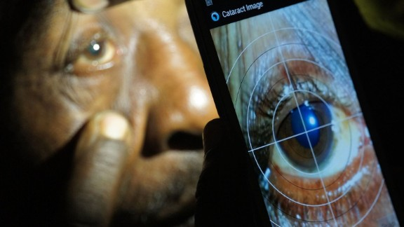 Smartphone app Portable Eye Examination Kit (Peek) has been used in Kenya, Botswana and India to test patients who would otherwise find getting proper eye care difficult.  Read more about Peek.