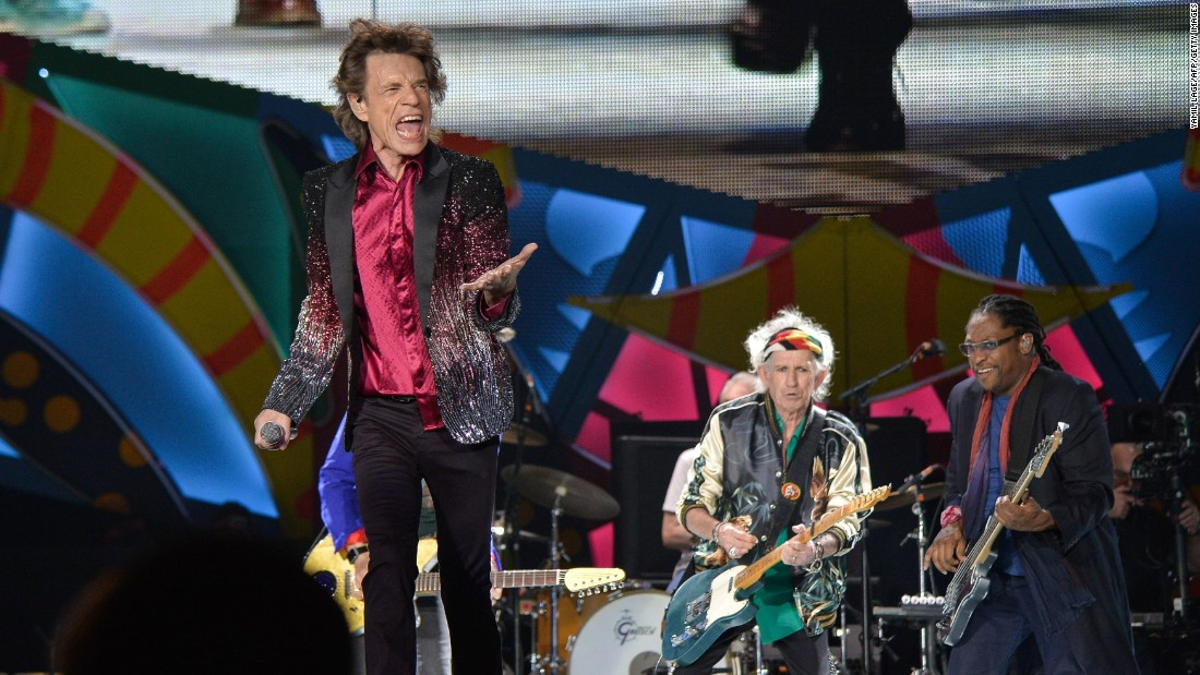 The Rolling Stones became the first major international rock band to play in Cuba. More than 100,000 people attended the concert at the Ciudad Deportiva in Havana.