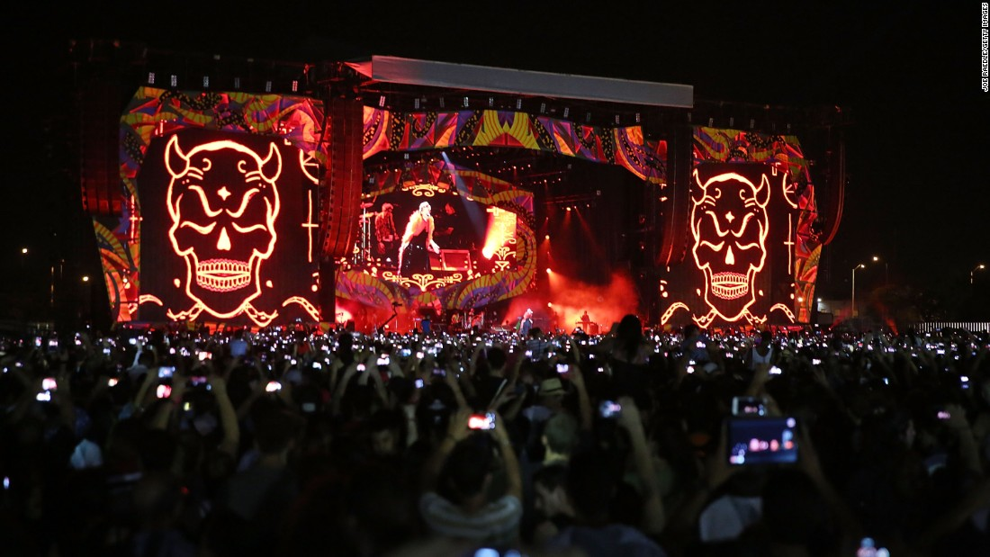 do the stones make any money on cuban concert