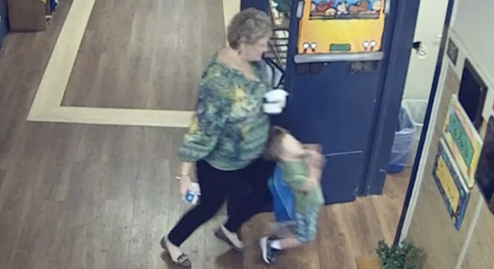 How To Catch Falling Son >> Teacher Arrested After Knocking Over Child Cnn Video