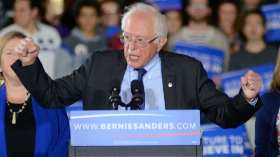 March 26, 2016 - Madison, Wisconsin, USA - Democratic presidential candidate BERNIE SANDERS is seen during a rally held in Madison, WI. (Credit Image: © Ricky Bassman via ZUMA Wire)