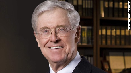 charles koch possible clinton could be better than gop nominee