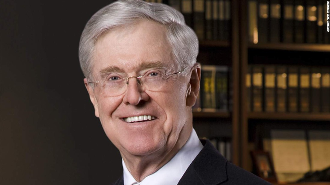 Kochs take 'breather' from politics, launch new education initiative