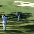 Lee Westwood putting Augusta
