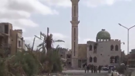 palmyra syria destruction treasures isis video_00000530