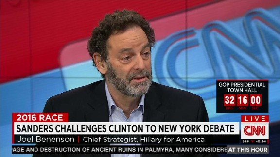 joel benenson new york debate_00001908.jpg