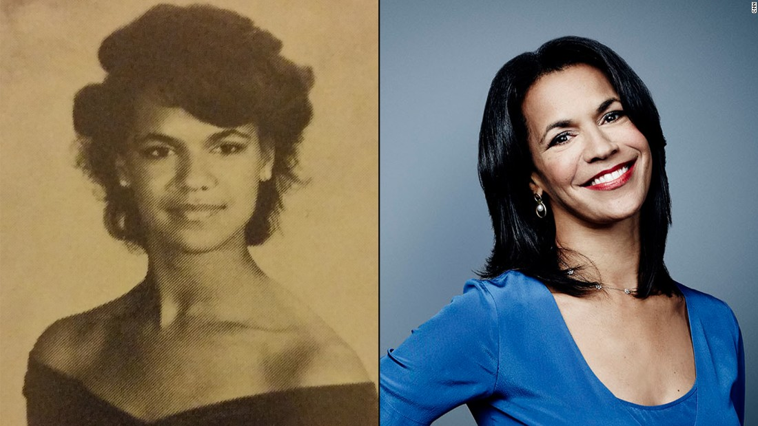Once a Panther, always a Panther! In 1983, future CNN anchor Fredricka Whitfield stood head and shoulders above the field as she got ready to graduate from Paint Branch High School in Burtonsville, Maryland.