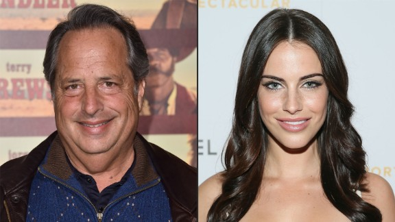 The Internet has been startled to hear that comedian Jon Lovitz, 58, and model Jessica Lowndes, 27, say they're engaged. (That's a 31-year age difference, if you're counting.) Lowndes later hinted that their coupling was an April Fools' joke. Here's a look at some other surprising celeb pairings.