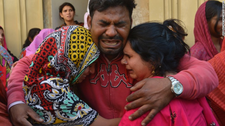 72 dead in Easter attack targeting Christians