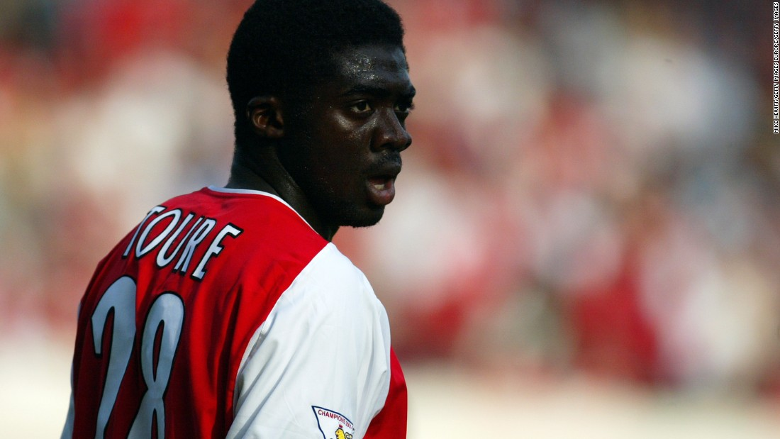 "The Ivorian defender transferred to Arsenal in 2002, and was a member of the 2003 to 2004 ""Invincibles"" team that went the Premier League season unbeaten."