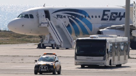 Pilot: In hijackings, like EgyptAir flight, this is rule No. 1