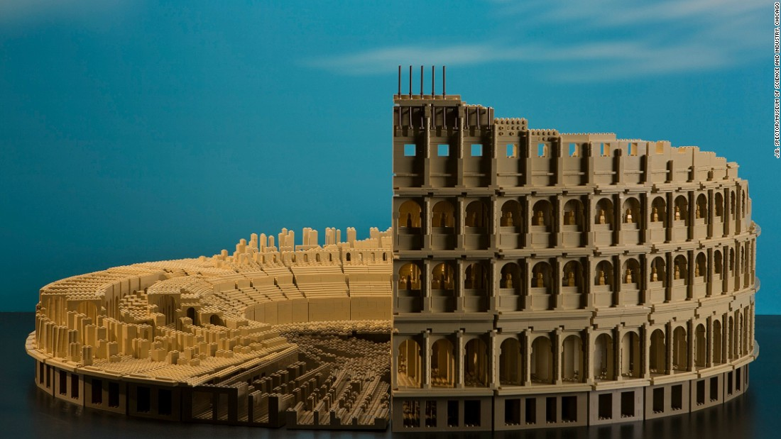 Architectural Wonders Of The World In Lego Form