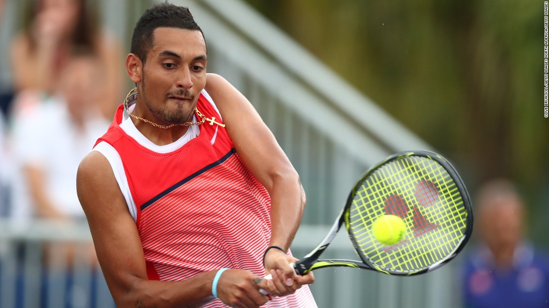 "Kyrgios owns wins over other members of the ""Big Four,"" having dispatched Roger Federer in Madrid last year."