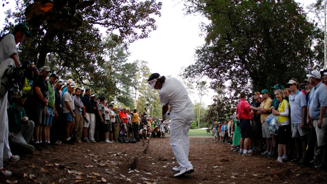 Winning the Masters requires a game in mint condition and a bit of something special. Think Tiger Woods' chip-in on the 16th in 2005, or Phil Mickelson's shot threaded through trees on the 13th in 2010. Or what about Bubba Watson's banana ball from the woods on the 10th to clinch a play off in 2012 (pictured)?