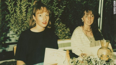 Vicki (right) and Sarah Hicks, pictured on a family holiday.