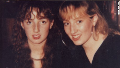 Vicki (left) and Sarah Hicks, seen during a visit to Liverpool's Anfield ground.