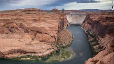 The Colorado River, which supplies water to more than 40 million people and irrigates millions of acres of farmland, has seen its supply sapped by drought and climate change.