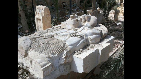 "The Syrian directorate-general of antiquities and monuments was positive that the condition of artifacts meant that they could be restored and their ""historic value"" returned, according to a translation of an article on the department's website."