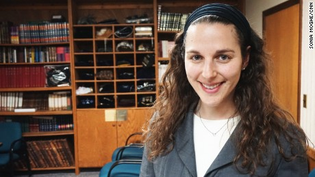 "Rabbi Lila Kagedan says she ""wanted my title to be the most accurate description of my training."""