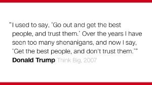 Donald Trump's least presidential moments so far.