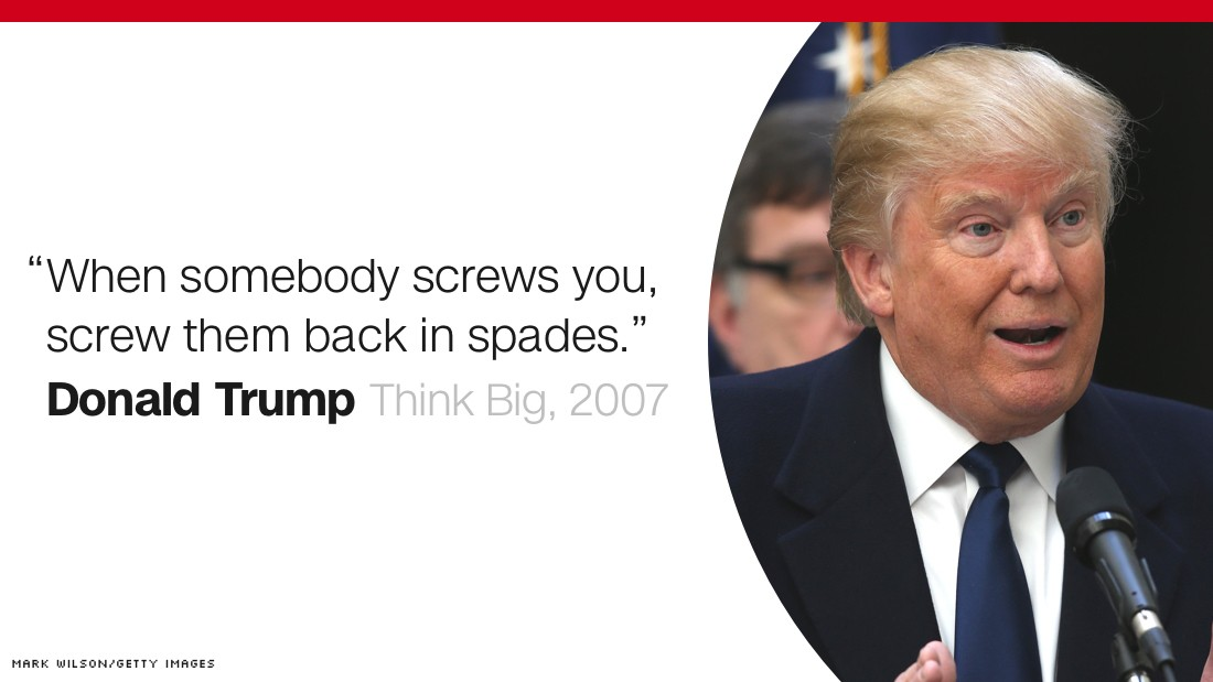 The Art Of The Deal Quotes Fair Donald Trump How He Sees Himself  Cnnpolitics