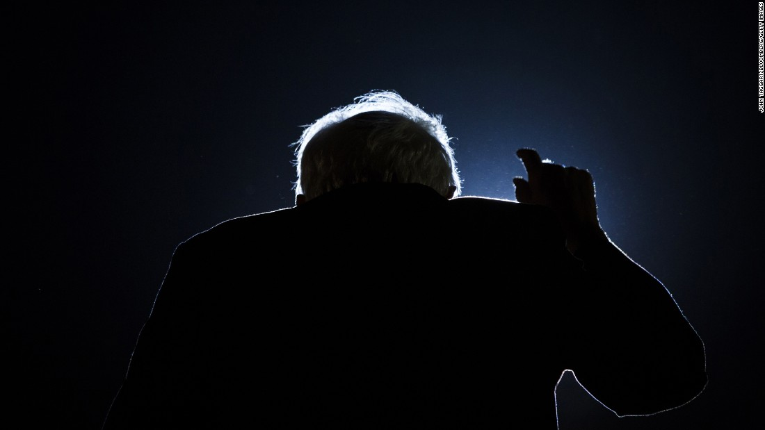 U.S. Sen. Bernie Sanders, who is seeking the Democratic Party's presidential nomination, speaks at a campaign event in New York on Thursday, March 31.