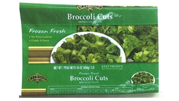 A company is voluntarily recalling frozen broccoli cuts sold in 11 states over fears of listeria contamination, the Food and Drug Administration said on April 1.