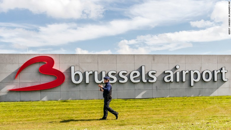 First flight leaves Brussels airport after attack