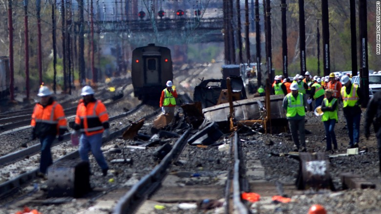 Source: 'Colossal' mistake Amtrak workers on wrong line