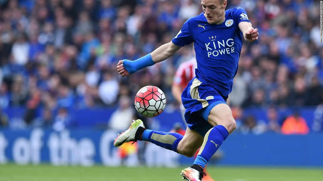 Jamie Vardy is Leicester's top-scorer this season but he couldn't add to his tally against Southampton.