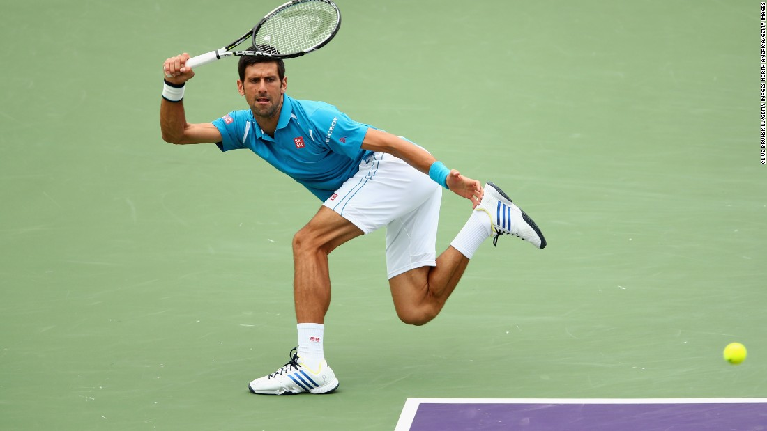 The Serb has now won the Miami event a record-equaling six times.