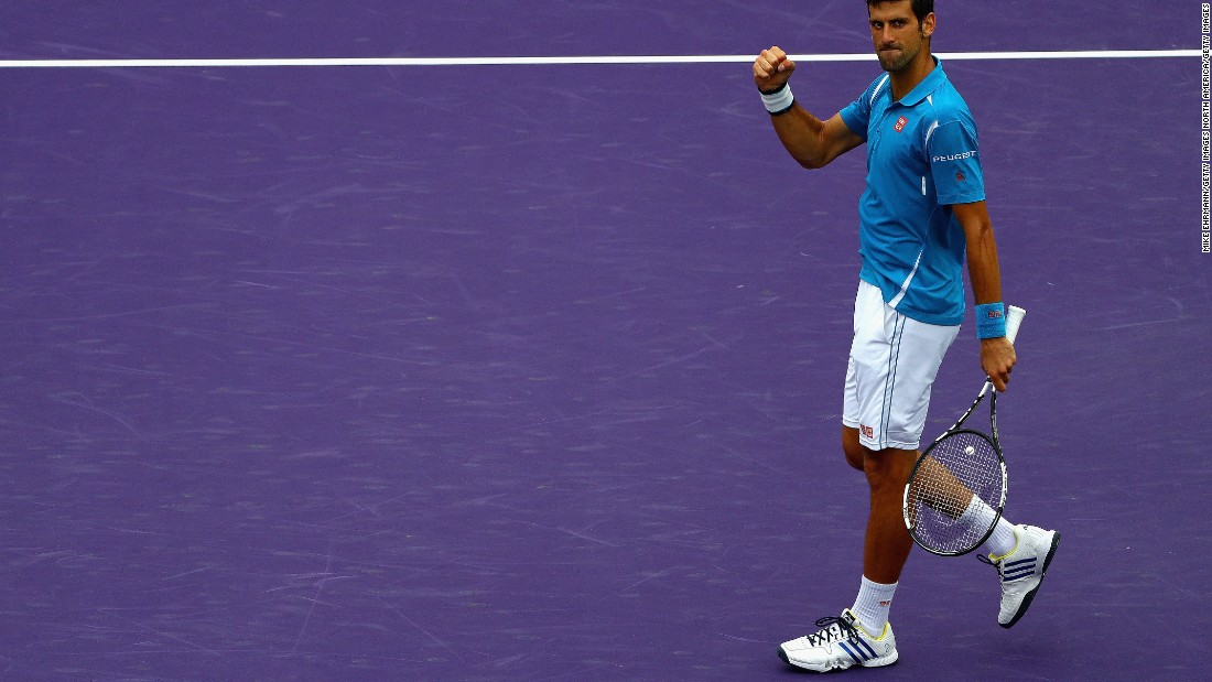 """I have a very special connection to this tournament,"" Djokovic said when speaking on court after the match."