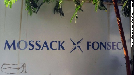 View of a sign outside the building where Panama-based Mossack Fonseca law firm offices are placed in Panama City on April 3, 2016. A massive leak -coming from Mossack Fonseca- of 11.5 million tax documents on Sunday exposed the secret offshore dealings of aides to Russian president Vladimir Putin, world leaders and celebrities including Barcelona forward Lionel Messi. An investigation into the documents by more than 100 media groups, described as one of the largest such probes in history, revealed the hidden offshore dealings in the assets of around 140 political figures -- including 12 current or former heads of states. AFP PHOTO / RODRIGO ARANGUARODRIGO ARANGUA/AFP/Getty Images