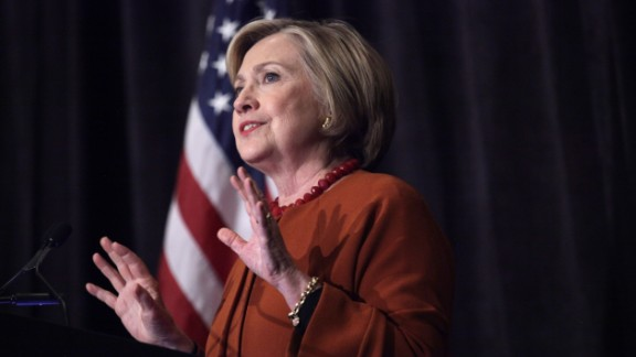 Democratic Presidential Candidate Hillary Clinton speaks at the Founders Day Dinner on April 2, 2016 in Milwaukee, Wisconsin.
