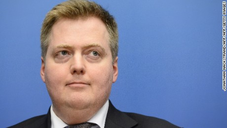 Prime Minister Sigmundur David Gunnlaugsson says he hasn't considered resigning.