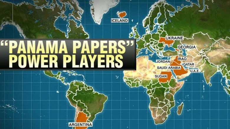 Leaked Panama Papers allege corruption by world leaders