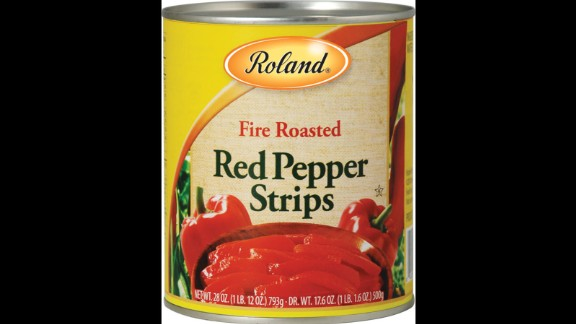 Roland Foods issued an unrelated recall of fire-roasted red pepper strips, also because of possible glass fragments, the company said in a statement.