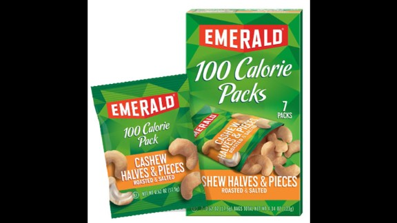 "The company that owns Emerald-brand nuts is recalling 100-calorie packages of roasted and salted cashew halves and pieces. The packages are being recalled ""due to the possible presence of small glass pieces,"" the company said on Friday, April 1. No injuries have been reported, but the recall was issued out of an abundance of caution following a consumer complaint."