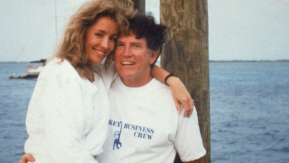 Some presidential candidates didn't survive their scandals. In 1987, the Miami Herald reported that White House hopeful Gary Hart, a former Democratic Colorado senator, was having an affair with a young model. Hart challenged the media to prove the allegations. Soon after, the National Enquirer obtained photographs of a model named Donna Rice sitting on Hart's lap on a yacht named Monkey Business. Once the pictures were published, Hart dropped out of the race.