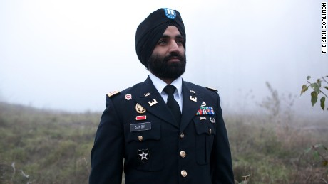 Capt. Simratpal Singh is a decorated combat veteran.