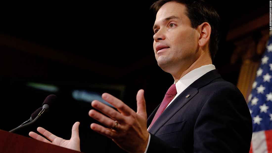 Marco Rubio: Treasury secretary should not visit Saudi Arabia amid search for missing journalist