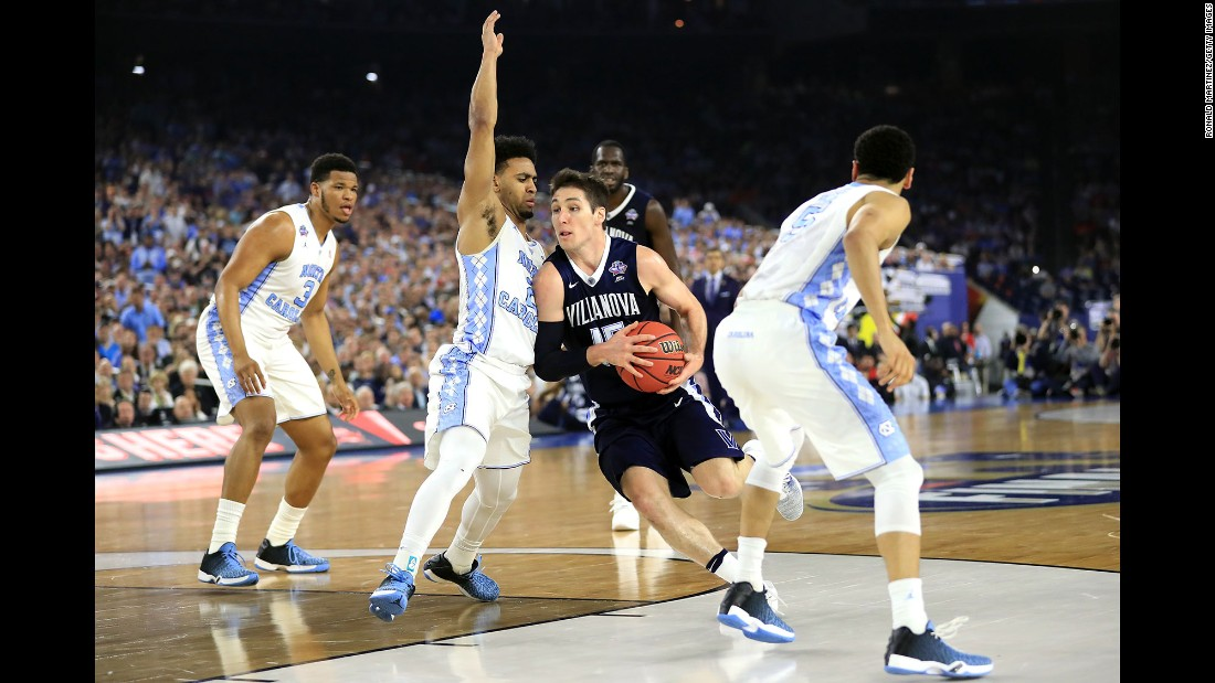 Villanova's Ryan Arcidiacono drives to the basket. He was named the tournament's Most Outstanding Player.