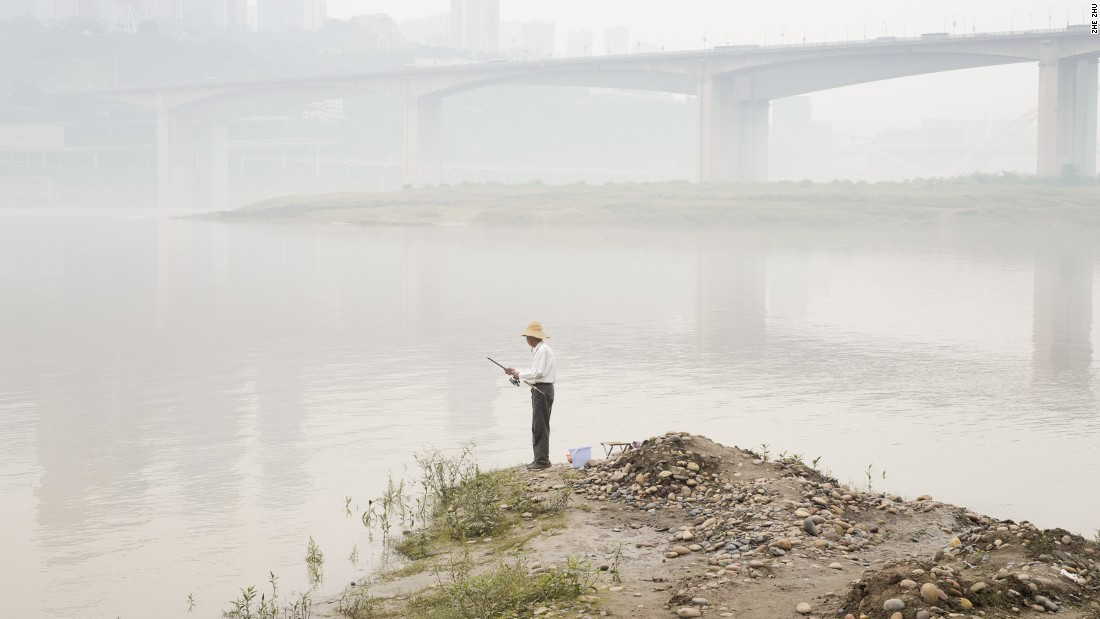 "Zhe Zhu traced the origins of the Yangtze River in his project entitled ""Wind and Water,"" which has been shortlisted in the ""Environment"" category."