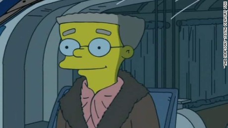 simpsons smithers gay writer intv. cnni_00003025