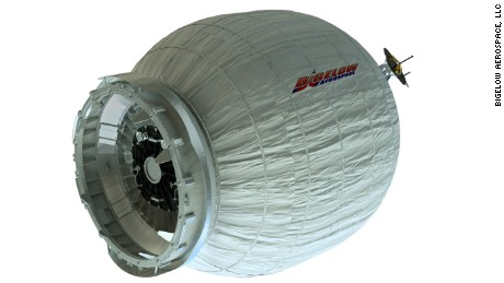 The Bigelow Expandable Activity Module (BEAM) is an experimental expandable capsule.