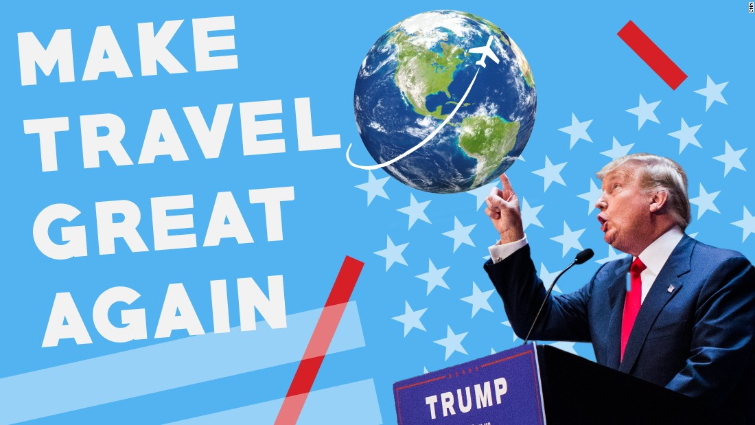 "Donald Trump is truly a <a href=""/2016/04/11/travel/donald-trump-travel/index.html"" target=""_blank"">man of the world</a>, even if the world doesn't always see it that way. Click through the gallery to see what we mean."