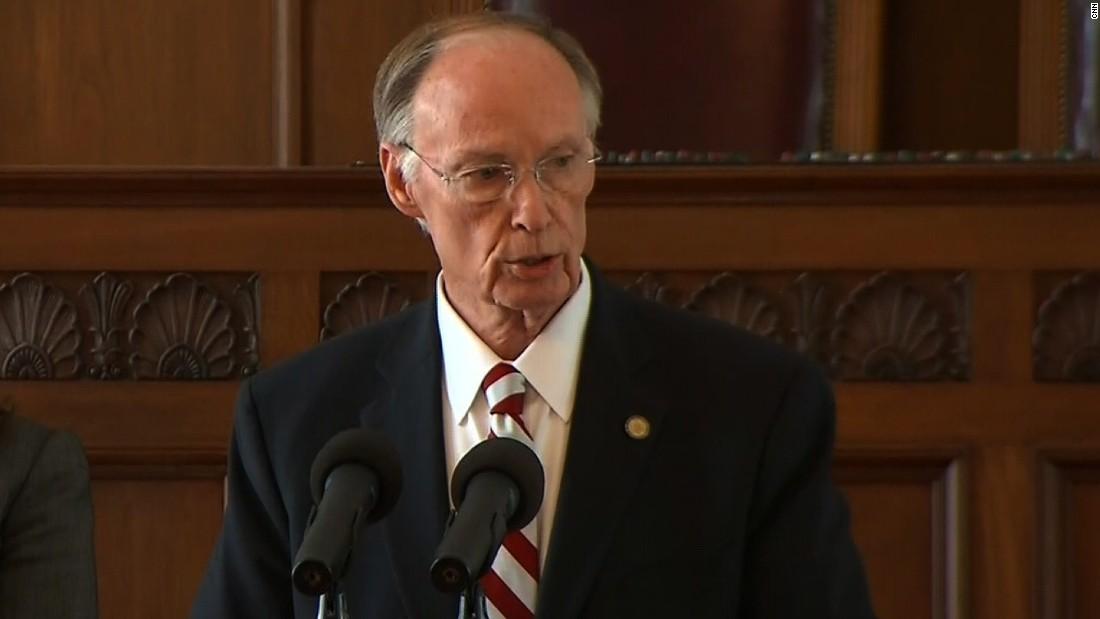 Spencer Collier Sues Alabama Gov Robert Bentley Cnn