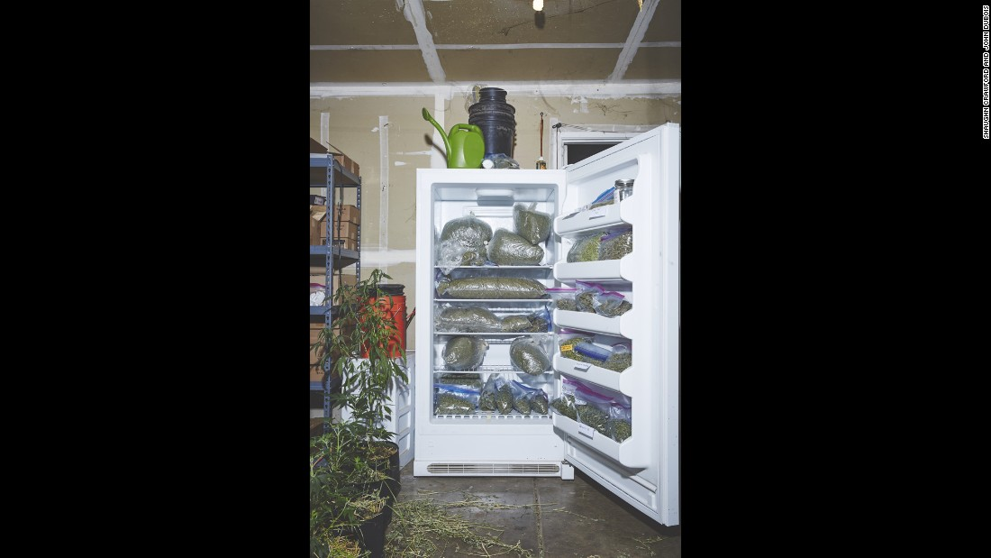 Marijuana is stored at the sisters' home.