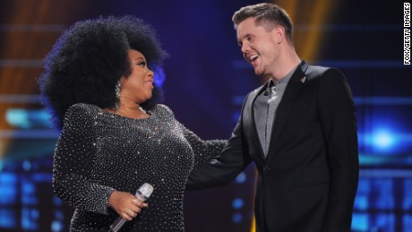 "La'Porsha Renae and Trent Harmon were the final two contestants on season 15 of ""American Idol."""