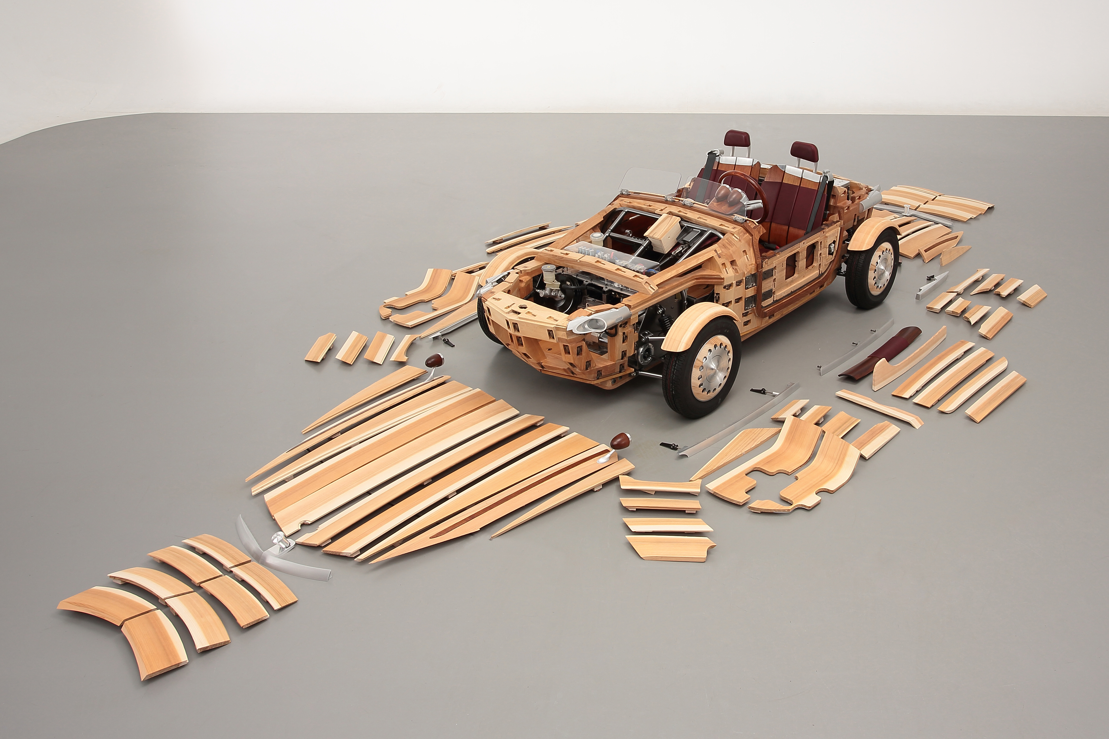 d5750a0405a Toyota s wood car fits together like a jigsaw puzzle - CNN Style